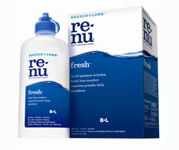 Renu Multi Purpose Soft Contact Lens Solution 2 X 355mL +120mL + Lens Case