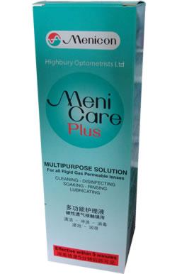 Menicare Plus Gas Permeable Multipurpose Solution 250ml