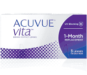 Acuvue Vita Monthly Wear 3 Lenses
